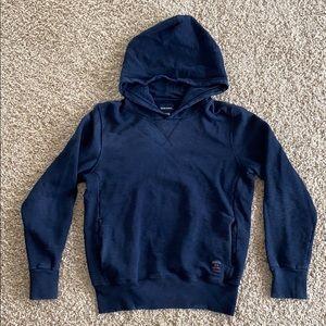 Diesel boys denim blue thin sweatshirt